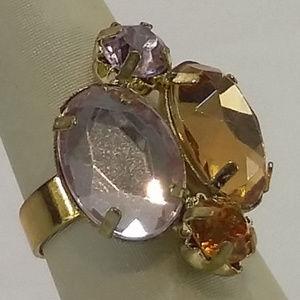 Jewelry - Multi Colored Stone Ring